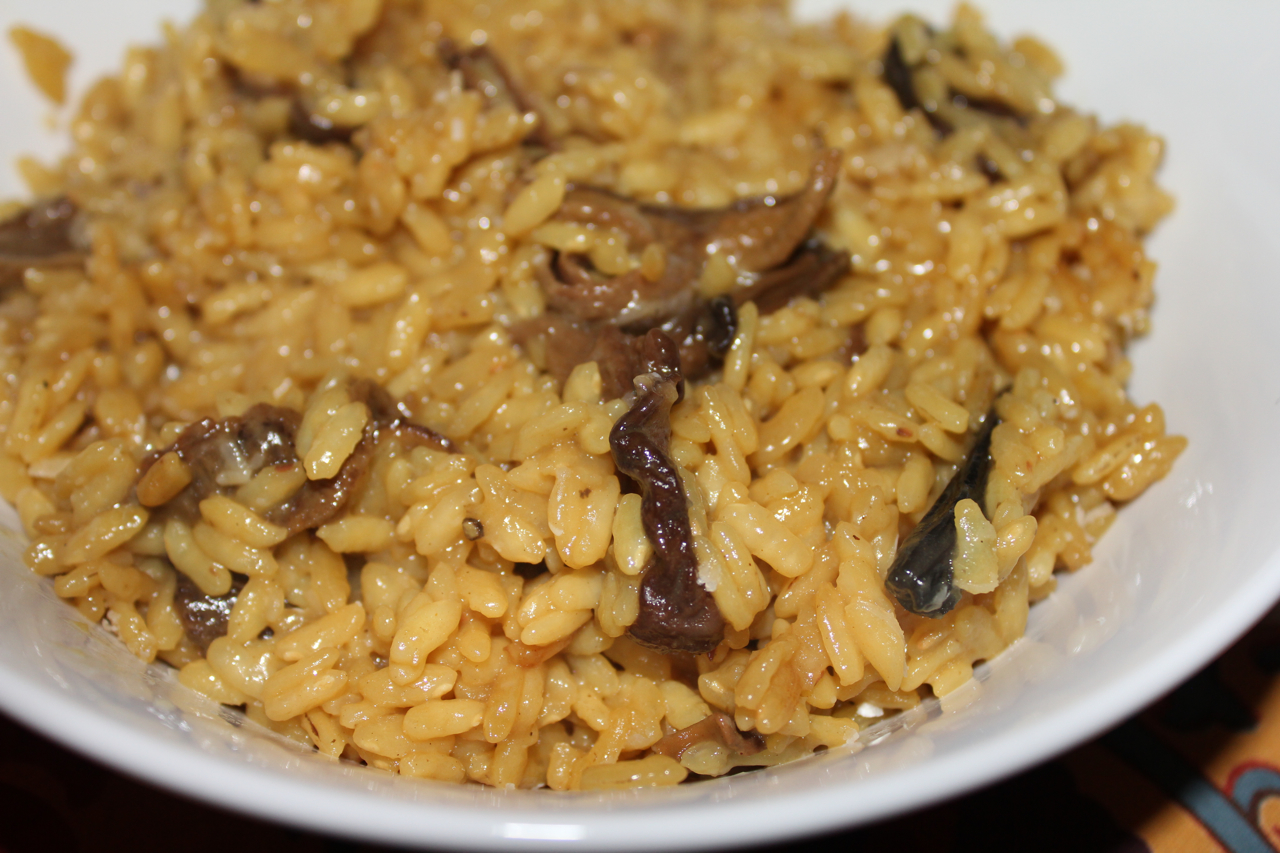 Mushroom and saffron risotto | The Italian Fork