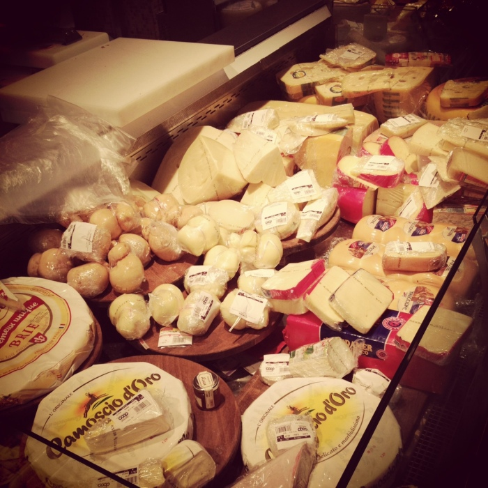 Cheese and more cheese